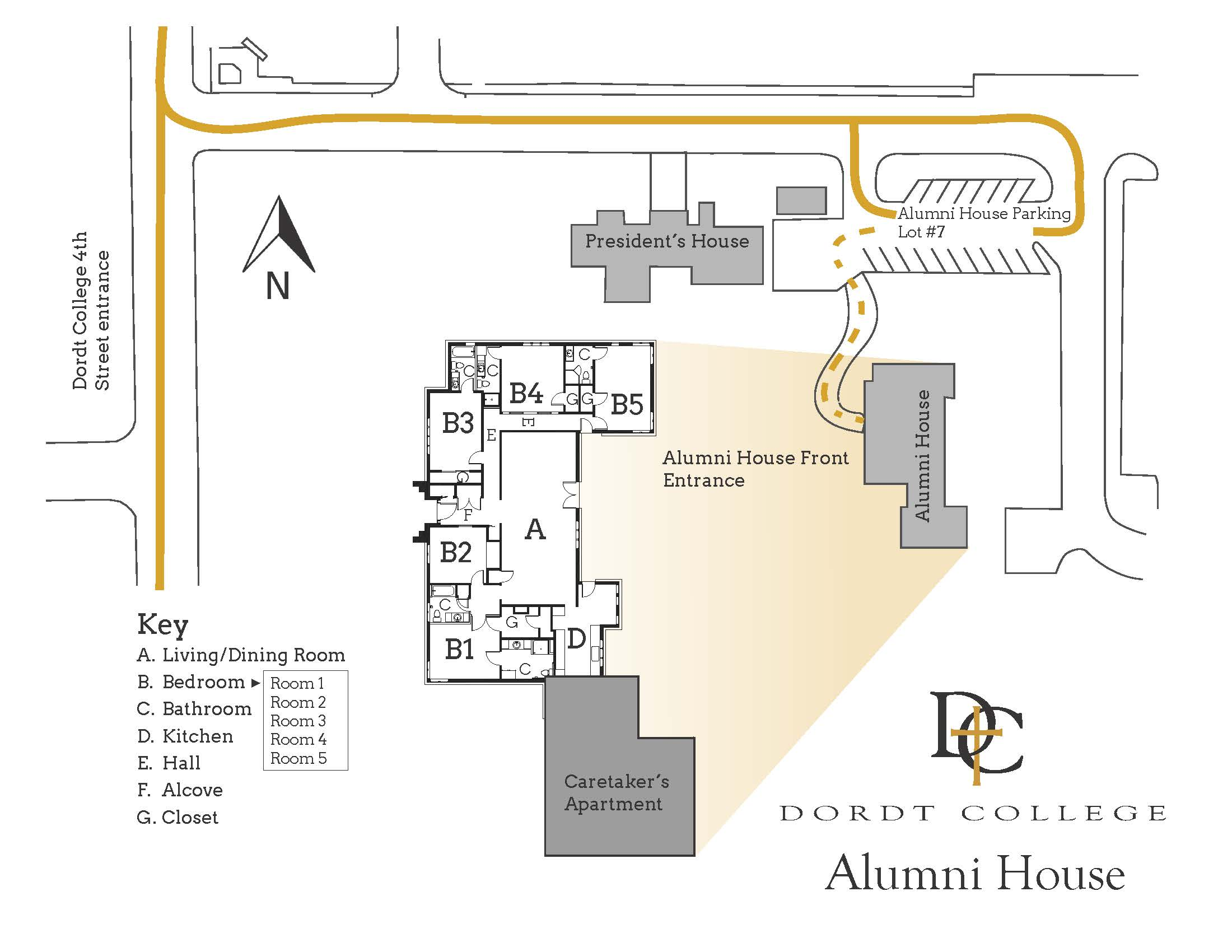 About The Alumni Guest House Get To Know Campus Student Life G 722 Block Diagram Floorplan