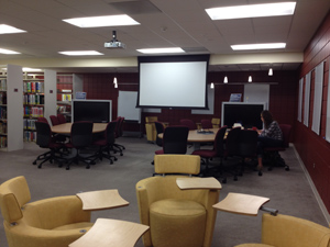 Learning Lab in the Teaching Resource Center