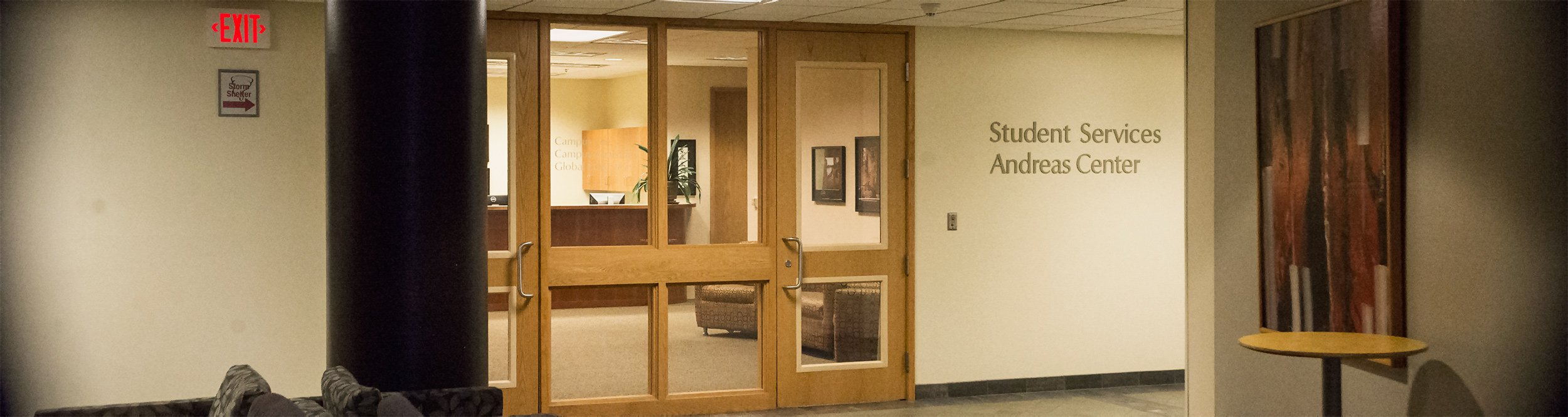 The student services center.