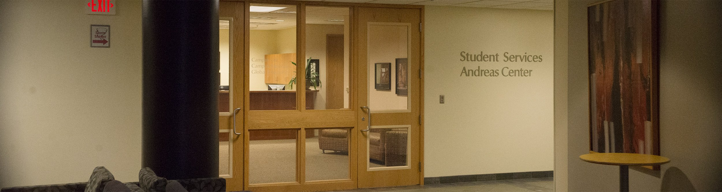 The student services office.