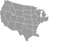 "A grey map of the midwestern and western United States and text that says ""transfer students."""