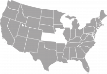A map of Wisconsin, Kansas, Missouri, and southern Iowa